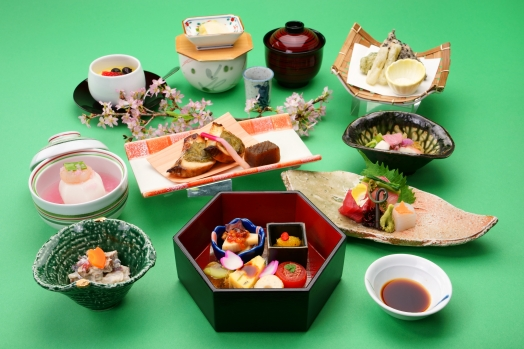 卯月の会席料理