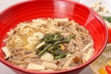 山菜木の子麺