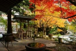 紅葉 覚園寺