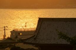 光明寺裏山からの夕景